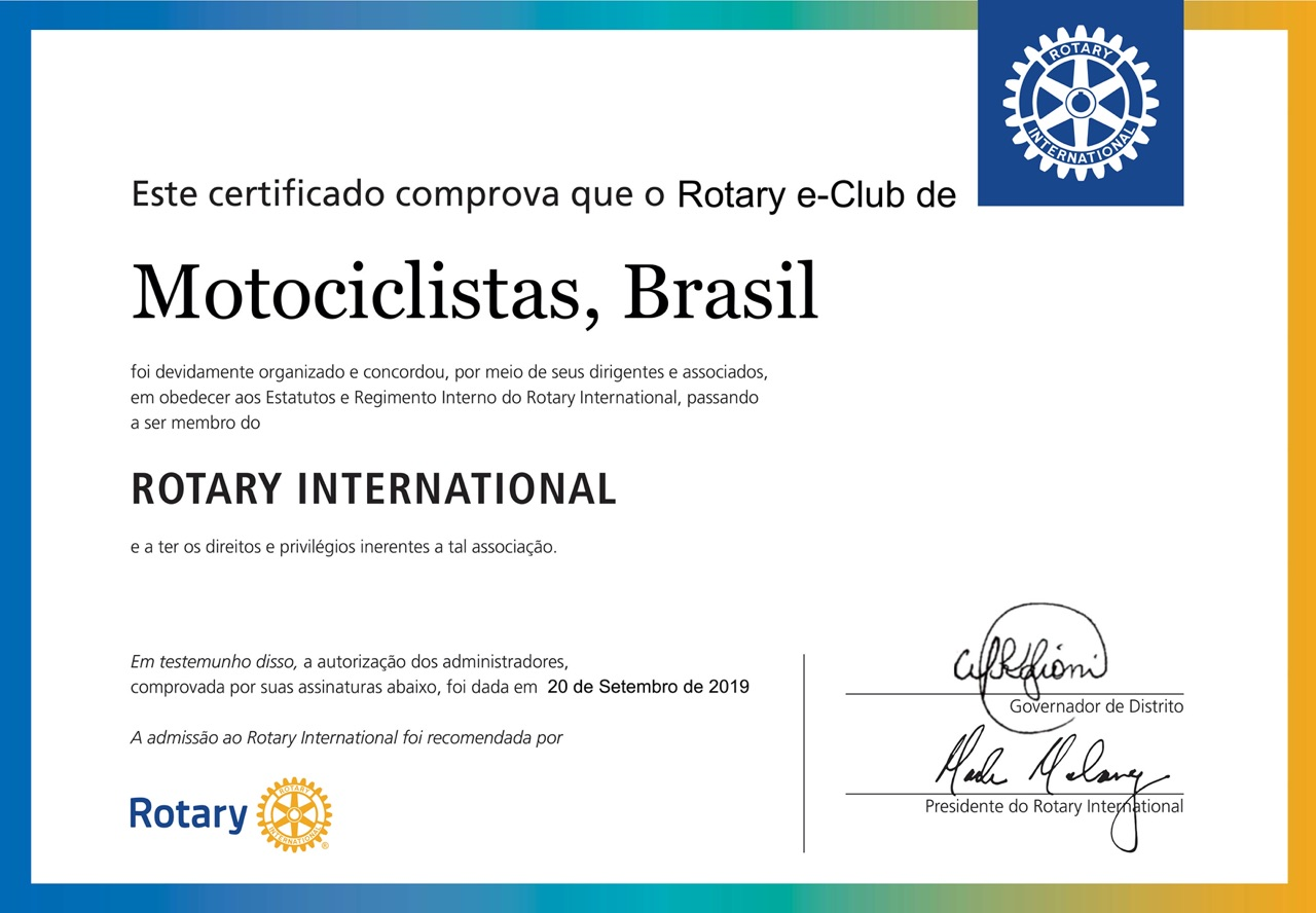 certificado e-club menor